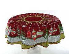 Katherine's Collection Meet Me Under the Mistletoe Table Overlay 30-930196 New