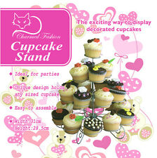 Charmed 23 Counts 4 Tier Cupcake Stand Dessert sweets Holder tower