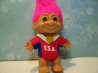 "USA OLYMPIC GIRL - 5"" Russ Troll Doll - NEW IN ORIGINAL WRAPPER - RARE"