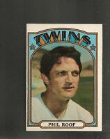1972 Topps # 201 Phil Roof NM-MT
