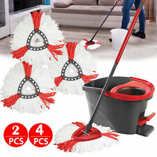 Replacement Heads Easy Cleaning Mopping Wring Spin Mop Refill Mop for O-Cedar US