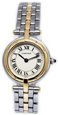 Cartier Panthere Vendome 18k Yellow Gold & Steel Quartz Ladies Watch Box/Papers