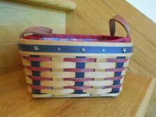 New ListingLongaberger Medium Berry Basket Set Proudly American 2004 *shipping included!*