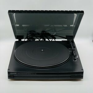 Kenwood P-28 Stereo Turntable Hifi Separate Record player working tested