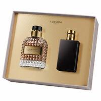 Valentino UOMO Gift Set Edt 50ml / 1.7oz+Shower Gel 50ml / 1.7oz 100% ORG & NIB