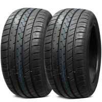 2 New Lionhart LH-Five 285/30ZR20 99W XL All Season Ultra High Performance Tires