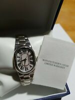 NEW Ultrafine 950 Silver Mother Of Pearl Watch Panther Link Bracelet 79 Grams