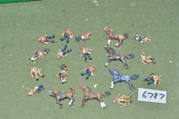 25mm british colonian casualty pack 19 figures (6787) metal painted