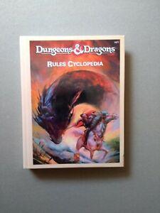 D&D RULES CYCLOPEDIA  TSR 1071  Dungeons & Dragons Ristampa Ufficiale Reprint