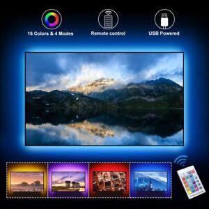LED TV USB Backlight Kit Computer RGB LED Light Strip TV Background Lights 1M