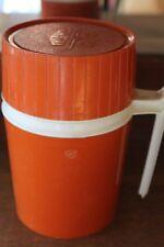 Vintage Orange Thermos #7002 10 oz L#1523
