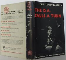 ERLE STANLEY GARDNER The D. A. Calls a Turn FIRST EDITION