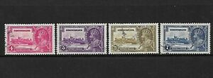 NEWFOUNDLAND - 1935 GV SILVER JUBILEE SET OF 4 - USED - SG 250/253 - CAT £38