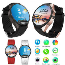 3G WiFi Smart Watch Cell Phone All-in-One GPS Camera Google map for iOS Android