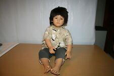 Makimura Boy Doll #1147 Annette Himstedt Puppen Kinder World Child Collection
