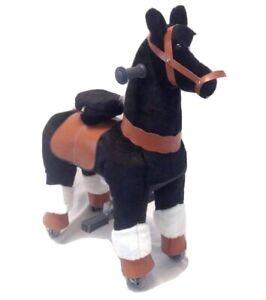 Ride On Pony Hop On Animal Unicorn Large 8-10 Yrs Age