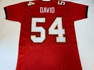 Lavonte David Jersey Custom Sewn Unsigned Stitched Red Tampa Bay Jersey Size XL