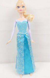 "Mattel 2012 Disney's Frozen Sparkle Princess 12"" Elsa Doll"