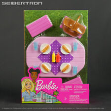 Barbie Outdoor Furniture Set PICNIC TABLE + Accessories Mattel 2020 New
