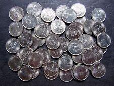 GREAT BRITAIN 5 New Pence COIN 1971 KM-911 UNC WHOLESALE LOT 50 pcs ENGLAND QEII