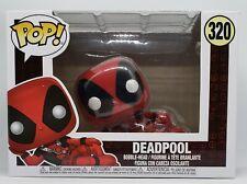Funko Pop + Protector! Marvel #320 Deadpool - Sexy Pose *Mint*