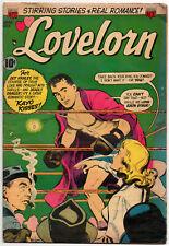 "LOVELORN #42 - October 1953 - ACG Golden Age Romance! - ""Kayo Kisses!"""