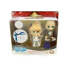 Fate Stay Night Type-Moon 10th Anniversary Saber Congratulations Figure Set