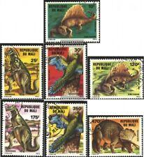 Mali 1025-1031 (complete issue) used 1984 Prehistoric Animals