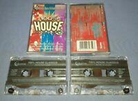 V/A 100% HOUSE CLASSICS VOLUME 1 Double cassette tape album