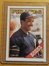 1988 O-Pee-Chee Barry Bonds Ultra Rare Blank Back 2nd Year 1/1?