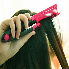 Magic Hair Styling Salon Comb Brush Dry Dryer Straight Bouffant Curling Care ET