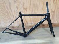 RDR Bicycles Carbon Rahmen unlackiert RAW / Rennrad Frameset Carbon 49cm