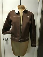 The North Face Soft Fleece Lined Light Jacket SZ Small Petite Brown Sherpa Women