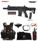 Tippmann Maddog TMC MAGFED LT HPA Tactical Camo Paintball Gun Package