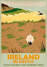 IRELAND IN DEPTH A3 vintage retro travel & railways posters Wall Decor #3