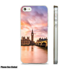 LONDON CITY SUNSET ART PHONE CASE FITS IPHONE 4 4S 5 5S 5C 6 6S 7 8 SE PLUS X