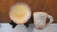 FRANKOMA Mayan Aztec Desert Gold ☆ Coffee Cup 7CL & Saucer 7E Set ☆ 7 AVAILABLE