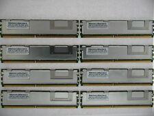 32GB MEMORY KIT 8 x 4GB FBDIMM PC2-5300F 667MHz for HP PROLIANT DL380 DL360 G5