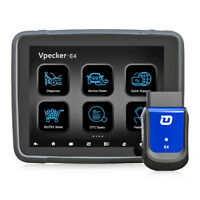 VPECKER E4 Bluetooth OBD2 All System Car Diagnostic Scanner Tool With Tablet PC