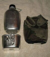 CANTEEN - CANTEEN CUP AND ONE CCE  CAMOUFLAGE  INSULATED COVER - NEVER USED