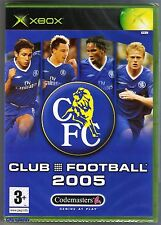 Xbox Chelsea Club Football 2005, New Microsoft Factory Sealed