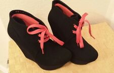 Andrea high heel wedges Black