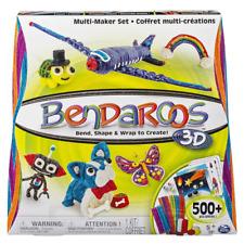 Bendaroos 3d Multi-Maker Set-PIEGA forma + Wrap per creare incl oltre 500 PEZZI