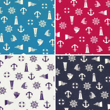 """Crafts Less than 45"""" Unbranded Beach & Nautical Fabric"""