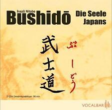 INAZO NITOBE - BUSHIDO - DIE SEELE JAPANS  2 CD NEU OVP