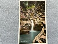 Whispering Falls, Watkins Glen New York Vintage Postcard