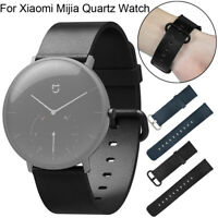 Leather Classic Replacement Watch Bands Wristband For Xiaomi Mijia Quartz Watch