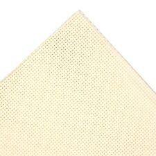 100 Cotton Cream Cross Stitch Embroidery AIDA 14 Count 30 X 45cms