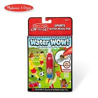 Melissa And Doug Water Wow On The Go Sports Pad NEW Toys