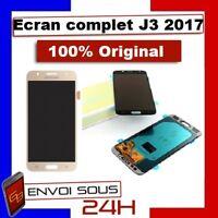 ECRAN LCD VITRE TACTILE ORIGINAL SAMSUNG J3 2017 J330F J330FN NOIR OR
